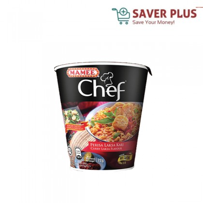 Mamee Chef Cup 62g/72g/84g