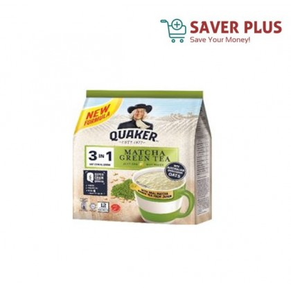 QUAKER OAT CEREAL DRINK 3 IN 1 15'S/12's (28g)